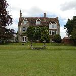 The view of Boreham Manor itself from their own lovely garden