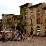 San Gimignano is only a 10 minute drive away.