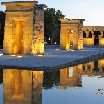 Madrid, Egyptian Templo de Debod