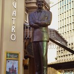 Carlos Gardel Statue