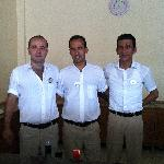 our 3 favourite barmen can,umhet & akin