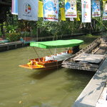 Small Teak Boat Canal Adventure