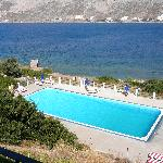 View from balcony (hotel) towards Kalymnos