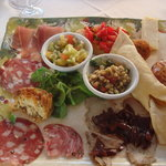 Le Cantine antipasti for one!