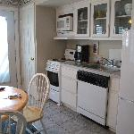 Small Kitchen very nice, appliances okay