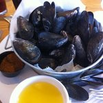 Steamed mussels only $8.99