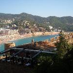  VISTA DESDE EL CASTILLO DE TOSSA DE MAR