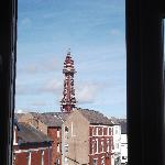 Blackpool tower from room 9