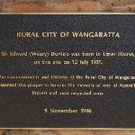 Plaque commemorating Weary Dunlop