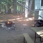  Campfire area
