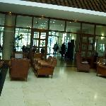  Looking from the lounge to lobby/reception