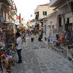 Pedestrian street - bazaar near the hotel