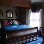 The bed in chamber 2.  Very comfy.