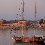 Early wake up - in Amazing Halki Harbor