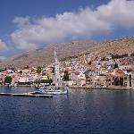  Panoramic - Halki from the Boat