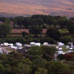 Woodlands Park from Ferris Wheel - Rose of Tralee 2010