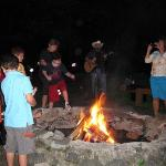 bonfire & marshmallow roast
