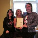 Anna & Simon - certificate of excellence Aug2011