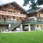 view of chalet from garden