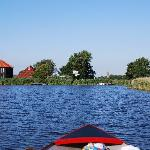 Directly situated at the lake
