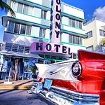 Most photographed Art Deco Hotel is the Colony Hotel