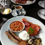 All local produce in this great breakfast!