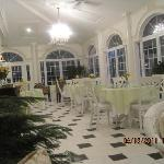  This is the beautiful room where we enjoyed our gourmet breakfast and our quiet time with wine a