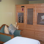 Infrared Sauna Treatment Room