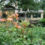 View of the Homestead from the garden