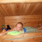  bunk bed in 2 bedroom cabin