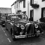  Visitors from the Fife Vintage Vehicle Rally pop in for Lunch.
