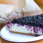 Blueberry Cheesecake... The pie was even better, but devoured too fast for a snapshot