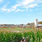 A beautiful fall day at Summers Farm in the corn maze