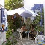 "Our  Guests  can enjoy  our  garden in "" Villa  Galini"" Paros"