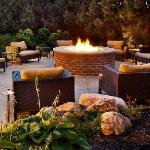 Outdoor spaces to relax and unwind