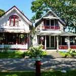 Gingerbread Style House at Oak Bluffs