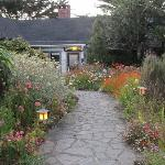  Charming gardens of Agate Cove Inn