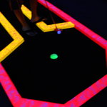 The Golf Beaches Black Light Mini-Golf