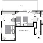  Apartment&#39;s Plan