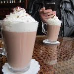 a short trip into town for some hot chocolate