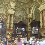 A beautiful food store which our guide showed us along Tverskaya