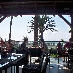 Nice veranda area to dine outside during meal times.