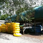 Rafting Shed at Hiwassee Outfitters
