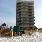 condo from the beach. 231 is on the third floor