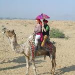 ChaCha arranged camel trip for New Years