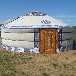Typical mongolian tent