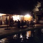 Party by the pool