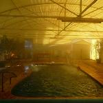 The 40 degree indoor artesian spa