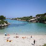 Beach at Cala Santandria