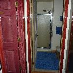  Private Bathroom  (bedroom is the door on left)